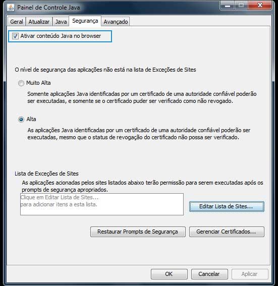 Coleta Web Java